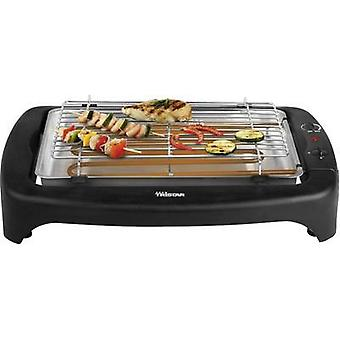Electric Table grill Tristar BQ-2814 with manual temperature settings Grate area (diameter)=380 mm Black