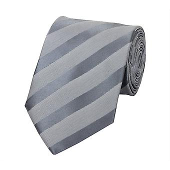 Tie one-coloured strips of Fabio Farini in grey