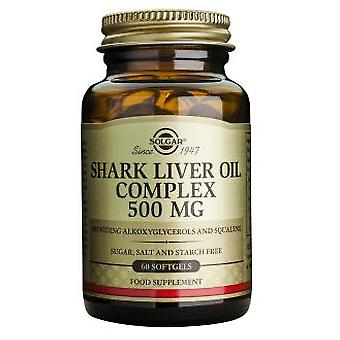 Solgar Shark Liver Oil 500 mg 60 Tablets