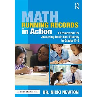 Math Running Records In Action by Newton Nicki (Newton Educational Consulting Usa)