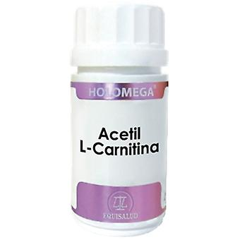 Equisalud Acetyl L-Carnitine Holomega 50CAP. (Diet , Supplements)