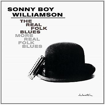 Sonny Boy Williamson - Real folkemusik Blues/More reelle Folk Blues [CD] USA importerer