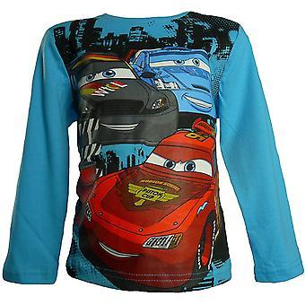 Pojkar Disney Cars Lightning McQueen lång ärm topp / HO1568