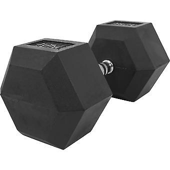 Hexagon Kurzhantel Gummi 40 kg