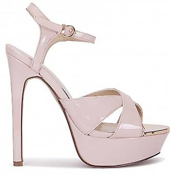 Koi Couture Ladies Ta1 Nude Strappy Sandals
