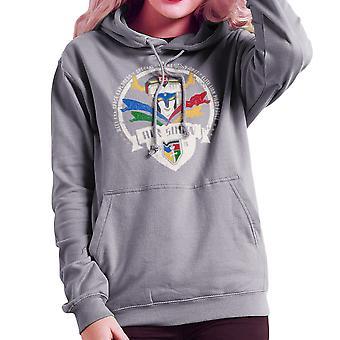Voltron Force Arus Air Show Elite Lion Pilot Women's Hooded Sweatshirt