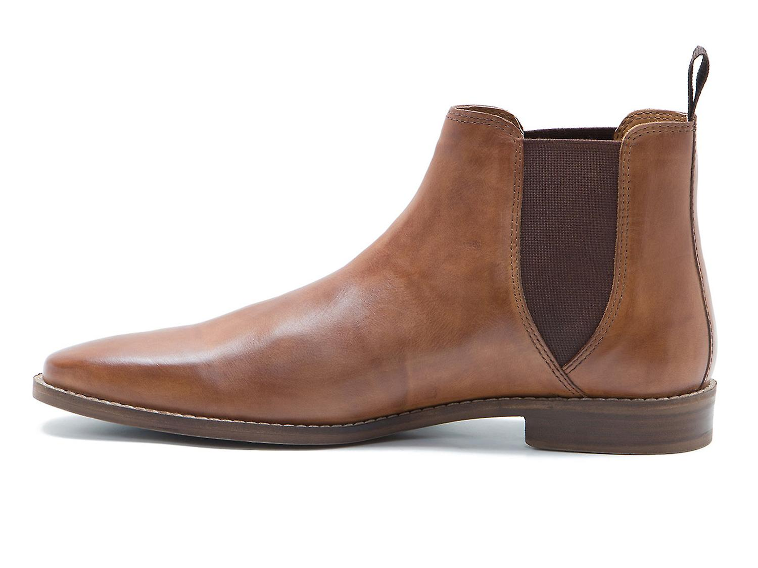 2c8a4afccfa Red Tape Tapton Tan Leather Mens Chelsea Boots