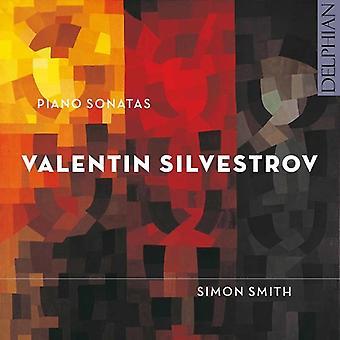 Silvestrov, Valentin / Smith, Simon - klaver sonater [CD] USA import