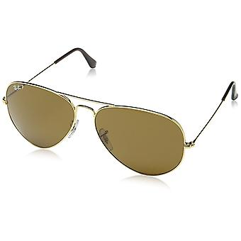 Ray-Ban Aviator classique or Polarized lunettes de soleil - RB3025-001/57-62