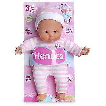 Nenuco Soft Doll Pink With 3 Functions (Toys , Dolls And Accesories , Baby Dolls , Dolls)
