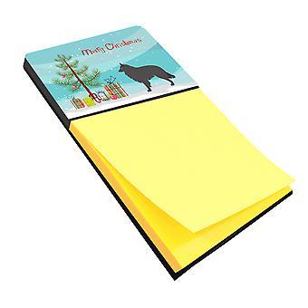 Supporto di note di Sticky Note Natale pastore belga Groenendael