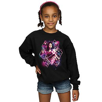 DC Comics piger Justice League film Team diamanter Sweatshirt