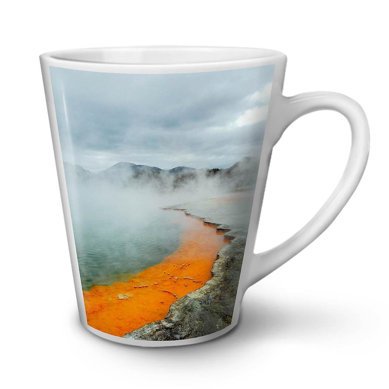 12 Lave Volcan Mug Blanc Sauvages Latte Céramique Nouveau Thé Café OzWellcoda En dxrBoCWe