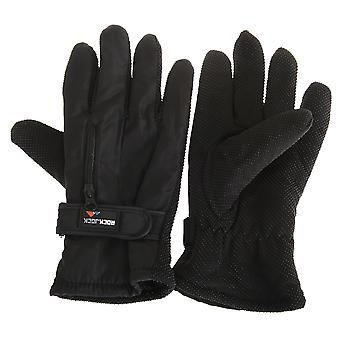 RockJock Mens Thermal Insulation Touch Fasten Gloves