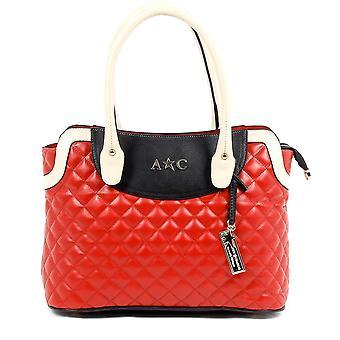 Andrew Charles Womens Handbag Red Hope