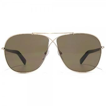 Tom Ford April Sunglasses In Shiny Rose Gold Roviex