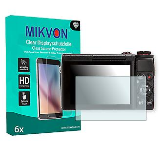 Canon PowerShot G7 X Screen Protector - Mikvon Clear (Retail Package with accessories)