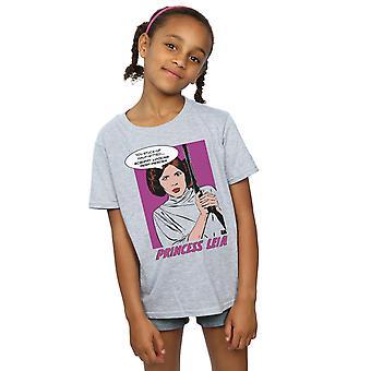 Star Wars Girls Princess Leia Pop Art T-Shirt