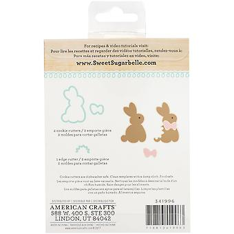 Douce Sugarbelle Cookie Cutter Kit 3pcs-Giant Bunny SB341996