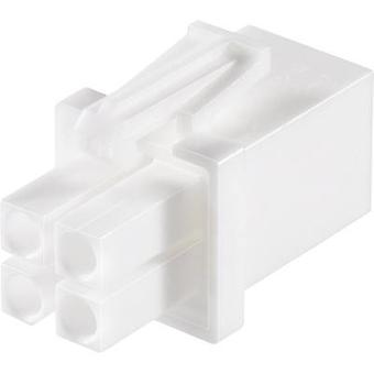 Pin enclosure - cable Universal-MATE-N-LOK Total number of pins 6 TE Connectivity 794895-1 Contact spacing: 4.14 mm 1 pc
