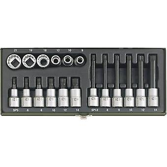 XZN socket, XZN Bit set 18-piece