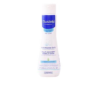 Mustela Bb Multi Sensory Bubble Bath 200ml Unisex Sealed Boxed