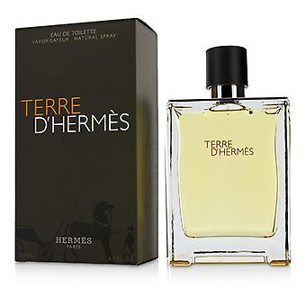 Terre D'Hermes Eau De Toilette Spray 200ml/6.7oz