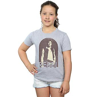 Star Wars filles Han Solo Rebel T-Shirt