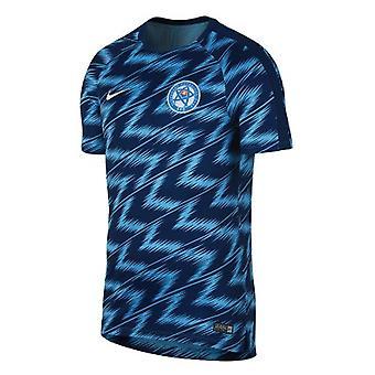 2018-2019 Slovakia Nike Pre-Match Training Shirt (Navy)