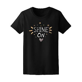 Shine On Graphic Tee Women's -Image by Shutterstock
