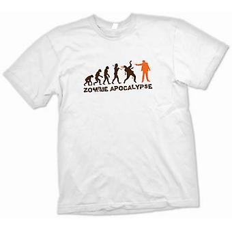 Mens T-shirt - Zombie Apocalypse - Lustiges
