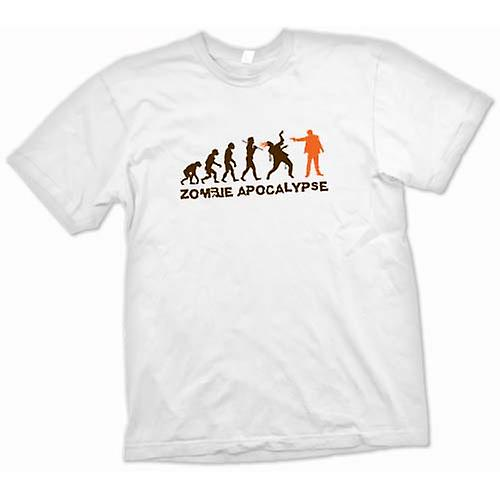 Heren T-shirt - Zombie Apocalypse - Funny