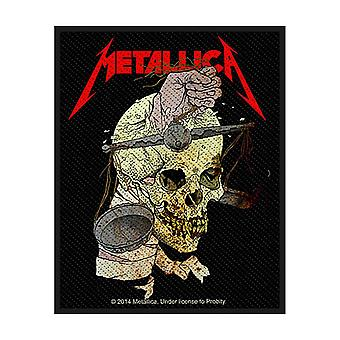 Metallica Patch Harvester of Sorrow Official New Black Cotton Sew On 10cm x 8cm