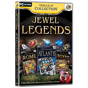 Triple-Play Kollektion Jewel Legends (PC-CD)