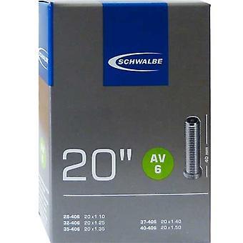 SCHWALBE AV 6 sykkel tube 20