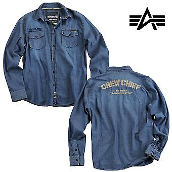 Alpha industries shirt crew chief shirt