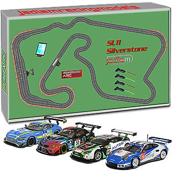 SCALEXTRIC Digital Set SL11 2018 - ARC Pro Silverstone 4 voiture JadlamRacing Layout