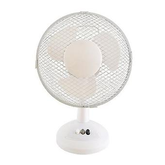 Lloytron Stay Cool Desk Fan 9-Inch 30 W White (F1003WH)
