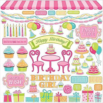 Party Girl Stickers 12