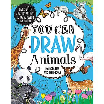 Parragon-You Can Draw Animals