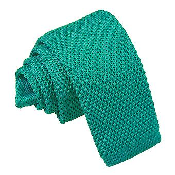 Teal Knitted Tie for Boys
