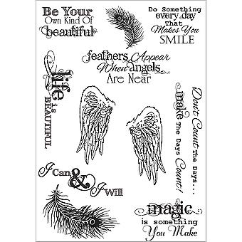 Debbi Moore Life Quotes A5 Stamp Sheet-Inspiration 1