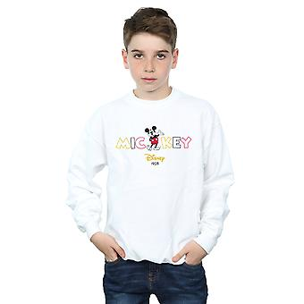 Disney Boys Mickey Mouse 1928 Sweatshirt