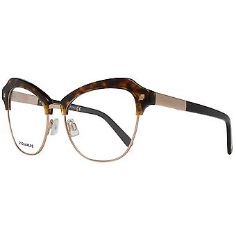 DSQUARED2 eyewear ladies gold