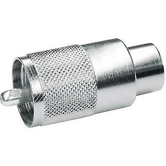 UHF connector Plug, straight 50 Ω Telegärtner J01040B0602 1 pc(s)