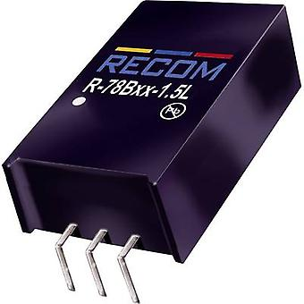 RECOM R-78B5.0-1.5L DC/DC converter (print) 5 Vdc 1.5 A 7.5 W No. of outputs: 1 x