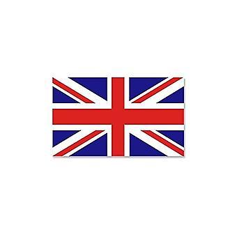 Union Jack tragen Union Jack Aufkleber