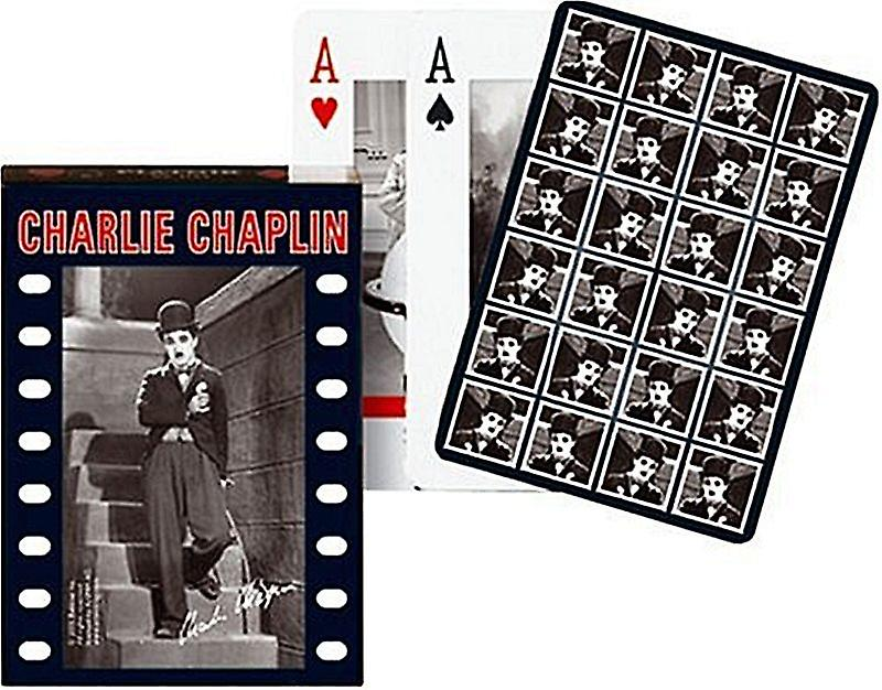 Charlie Chaplin Set Of Playing Cards