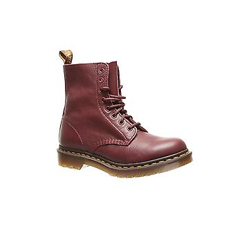 Dr. Martens Pascal ladies real leather boots Red