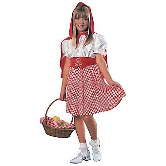 Little Red Riding Hood Big Bad Wolf Fairy Tale Story Book Week Girls Costume